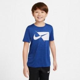Camiseta Nike Niño Azul...