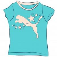 Camisetas manga corta Niña